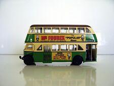 1946 AEC Regent III D/Decker Bus Mr. Fourex Code 2 Graphics Trux TX6K Diecast