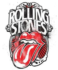 Rolling Stones Iron On Transfer For T-Shirt & Other Light Color Fabrics #2