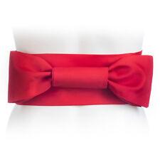 Red Japanese Obi Kimono Belt