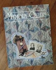 MEMORY QUILTS Ways to Capture Today Forever BOOK (WEDDING, BABY. GRADUATION)