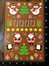 CHRISTMAS STICKERS - BY DARICE - ONE SHEET OF BEAUTIFUL STICKERS - #BELEN13