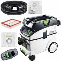 Festool Extracteur Mobil Ctm 36 E AC LHS 574984 Avec Autoclean Pour Planex Easy