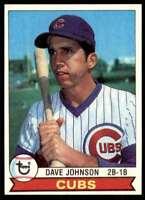 1979 Topps (1R1c) Dave Johnson #513