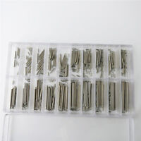 1.2mm Thick Watch Band Clasp Buckle Tube Friction Pins Link 7mm-26mm Spring Bar