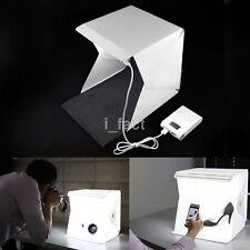 Mini Folding Studio Softbox With LED Light Background Photo Studio Accessories i