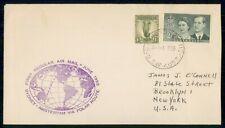 Mayfairstamps Australia First Flight Cover 1955 Sydney to Amsterdam Polar Route