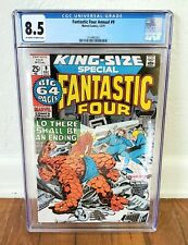 Fantastic Four Annual #9 - 1971 Marvel Comics CGC 8.5! The Thing King Size VF+