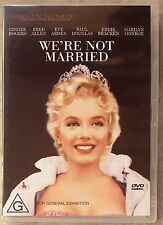 We're Not Married (Marilyn Monroe) DVD in LIKE NEW condition (Region 4)