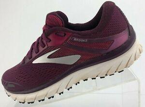 Brooks Adrenaline GTS 18 Running Shoes Purple Training Sneakers Womens US 7.5 B