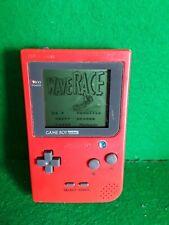 Nintendo Game Boy Pocket Red