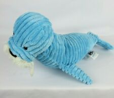 Jellycat Walrus Blue Cordero 15 Long Tail to Nose 8 Hight Clean