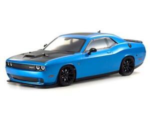 Kyosho EP Fazer Mk2 FZ02L 2015 Dodge SRT Challenger Hellcat ReadySet (Blue)