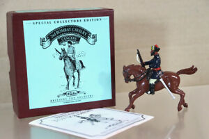 BRITAINS 8840 BRITISH WAR in INDIA MOUNTED 2nd BOMBAY CAVALRY LANCERS BOXED nz