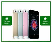 Apple iPhone SE 16/32/64/128GB - 1st Gen - Factory Unlocked Smartphone Colors US