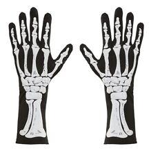 Gants squelette 35 cm Neuf-Accessoires Accessoire Carnaval