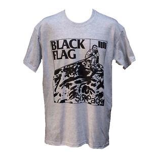 Black Flag Punk Rock Metal Hardcore Music Poster T shirt Unisex Top S-2XL