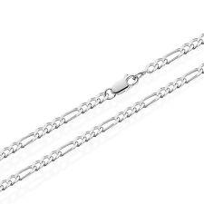 21cm 925 ECHT STERLING SILBER FIGARO Kette Armkette Armband 3,6mm 5,8 gr 5416