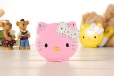 2017 New Mini Small Cute Cartoon Flip Hello Kitty Student Child MP3 Mobile Phone