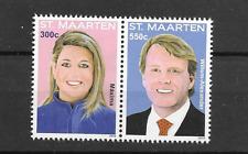 2013 MNH Sint Maarten NVPH 174-75