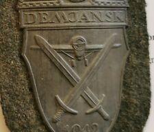 German Original wwii Damjansk Shield