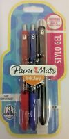 Paper Mate InkJoy Stylo Gel - Red , Blue and Black