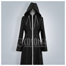 Cosonsen Kingdom Hearts 2 Organization XIII Cosplay Costume Long Coat Halloween