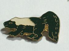 Vintage Skunk Enamel Pin (lg) (sort of dark greyish/black)