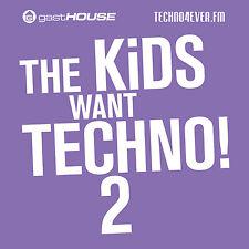 CD The kids Want Techno 2 de Various Artists 2cds