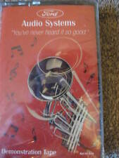 1980's Ford Audio Systems Demonstration Tape Sealed Vintage Music CL10-32