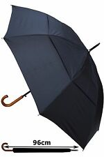 COLLAR AND CUFFS LONDON - STRONG WINDPROOF AUTOMATIC LARGE UMBRELLA RRP £50