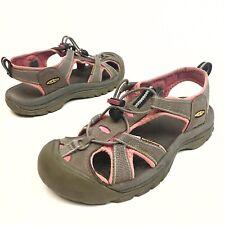 KEEN Venice H2 Sport Sandals Waterproof Shoes Women's Sz 8 Eu38.5 Pink/Brown EUC