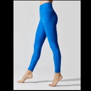 Beyond Yoga Spacedye Caught in the Midi Legging Women's Size XS Royal Blue