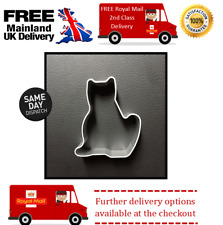 small cat cookie cutter for fondant icing cake decorating