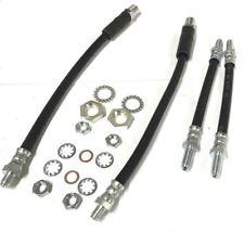 Clásico Mini 4 Líneas Manguera Flexible de Frenos Kit Delante Batería &