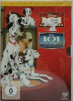 Disney 2 x DVD 101 Dalmatiner + 101 Dalmatiner II 2 - Film Edition NEU in Folie