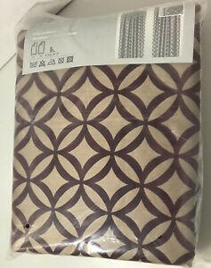 """IKEA Andrea #10439 Drapes Curtain 2 Panels 57 X 98"""" - 145 x 250 cm Velvet Rare"""