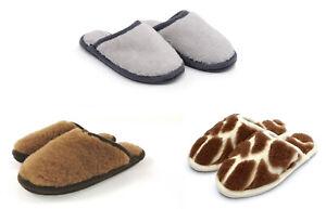 Woollen Slippers shoes boots Sheep MERINO WOOL NATURAL Flip-flops
