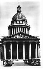 Vintage Real Photo Post Card CIE Paris France 1930's Le Panthéon Monument