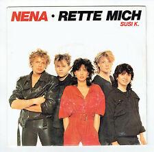 """NENA Disque Vinyl 45 tours SP 7"""" RETTE MICH - SUSI K. - CBS 4180 STEREO F Reduit"""