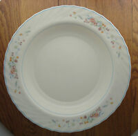"Victoria by Arcopal France 12"" pasta serving bowl floral with swirl edge"