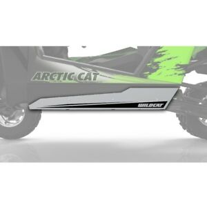 Arctic Cat Aluminum Side Guards Anodized 2012-2019 Wildcat 1000 X 4 - 1436-922