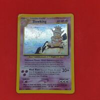 Slowking 14/111 Holo Rare with SWIRL WOTC Pokemon Card Neo Genesis