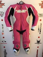 Arlen Ness ladies One Piece race leathers with hump uk 10