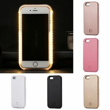 LED Light Up Selfie Luminous Phone Case Back Cover For iPhone 5S 6 6S 7 Plus