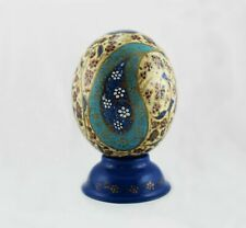 Painted Ostrich Egg , Gift, Decorations, Persian Carpet, Easter egg, T819