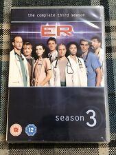 E.R. - Series 3 - Complete (DVD Box Set) ER season three SEALED
