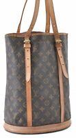 Authentic Louis Vuitton Monogram Bucket GM Shoulder Bag M42236 LV B1808