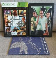Grand Theft Auto V GTA 5 Special Edition Steelbook - Microsoft Xbox 360 🎮 PAL