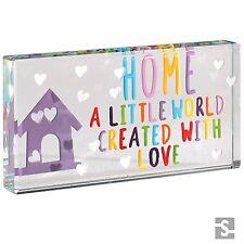 Spaceform Landscape Glass Token Home A Little World Family Love Gift Box 1903