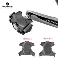 ROCKBROS Pedal Flat Cleats Cover Bracket For Shimano SPD LOOK KEO Pedal Platform